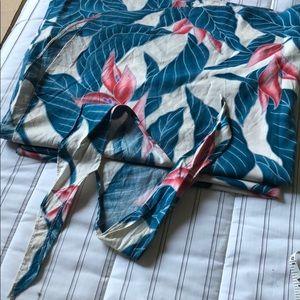 Aloha print long sarong Never used